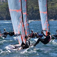 2019 02 16 17 29er NSW Champs Nacra15 0249
