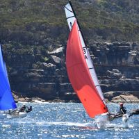2019 02 16 17 29er NSW Champs Nacra15 0349